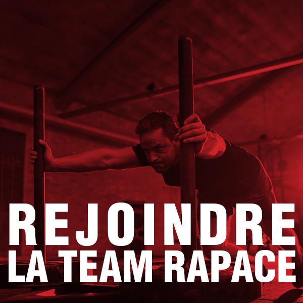 Rejoindre la Team Rapace